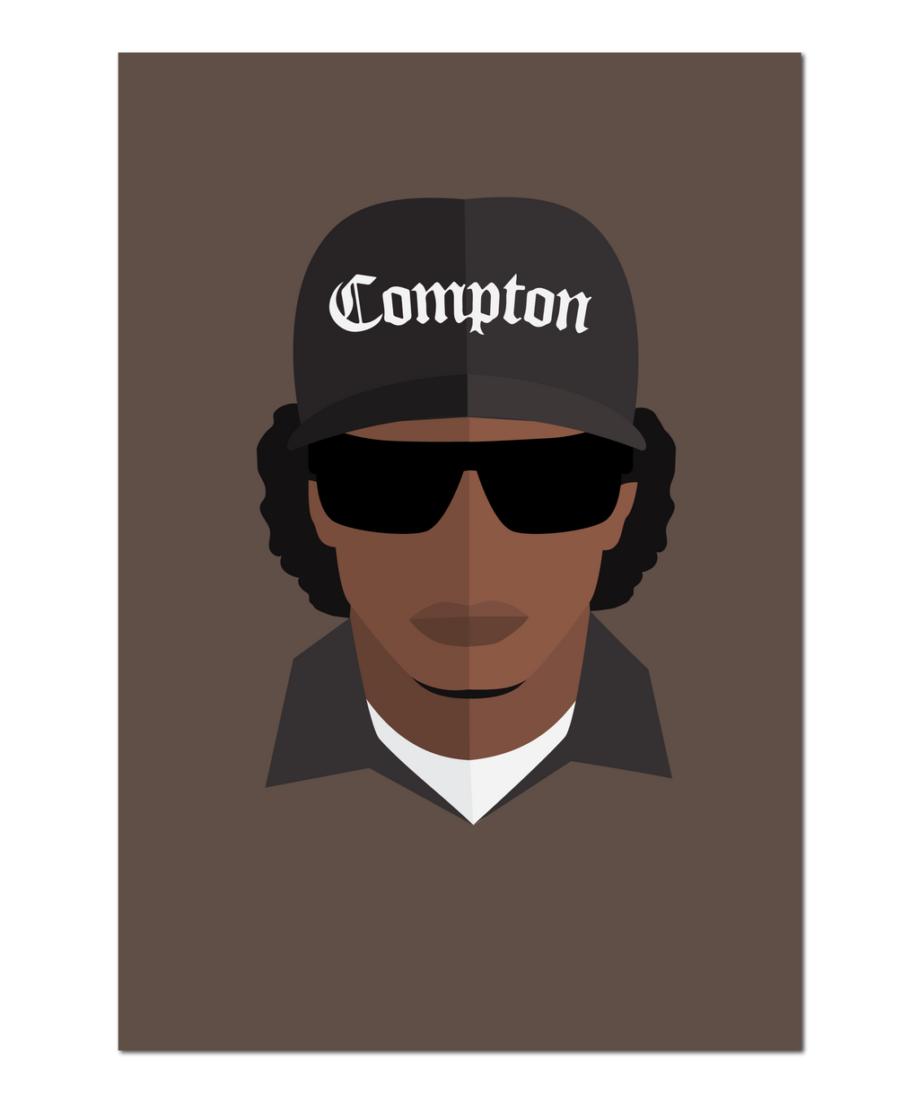 Compton Inspired Original Icon Print (Icon Series)