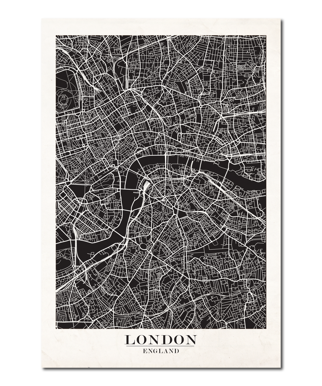 London Map Design
