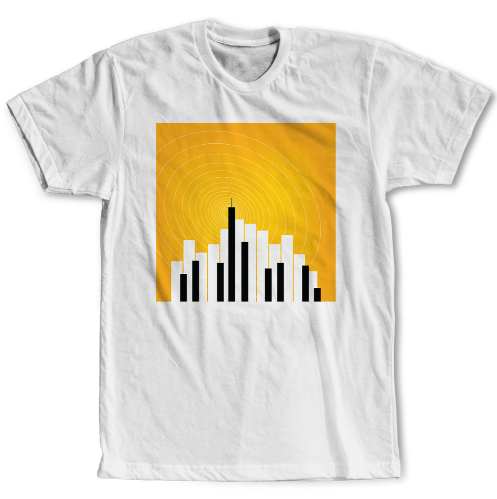 City Keys Original Design White T-Shirt