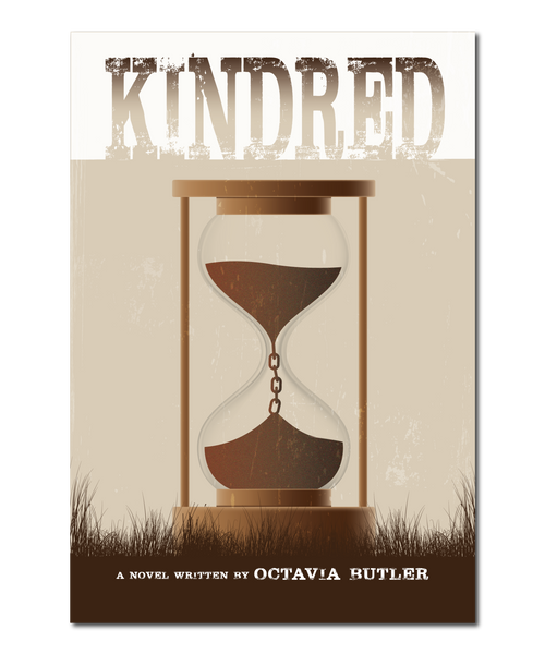 "Original Print Reinterpretation of the classic novel, ""Kindred"" (by Octavia Butler)"