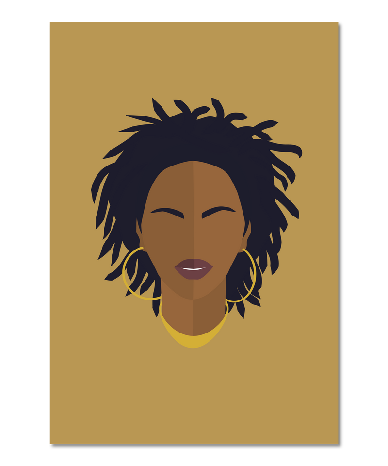 Miseducation Inspired Original Icon Print (Icon Series)