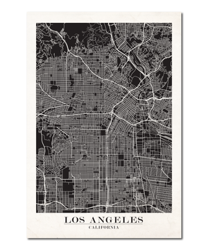 Los Angeles Map Design