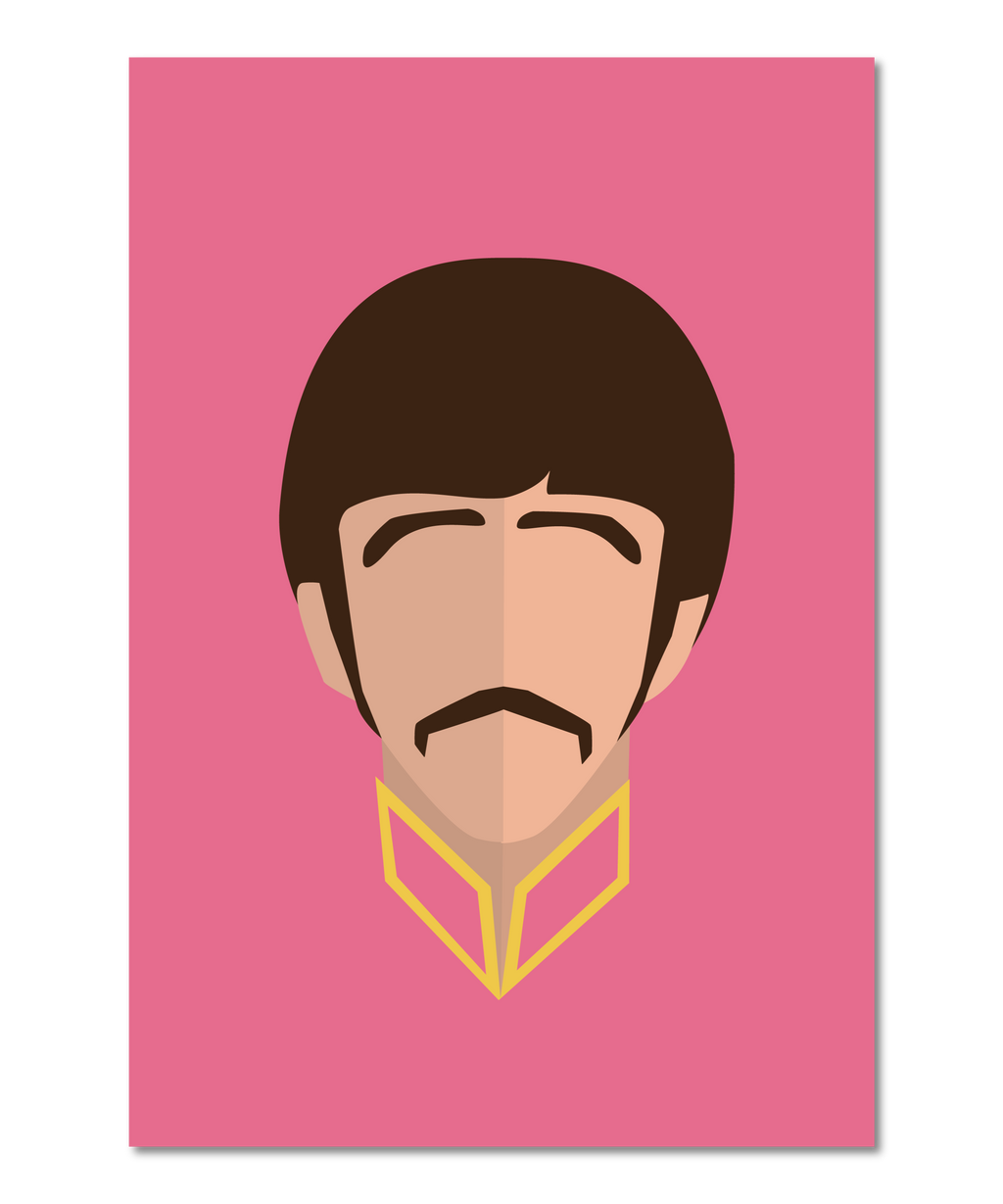 Ringo Star (Beatles) Original Icon Print (Icon Series)