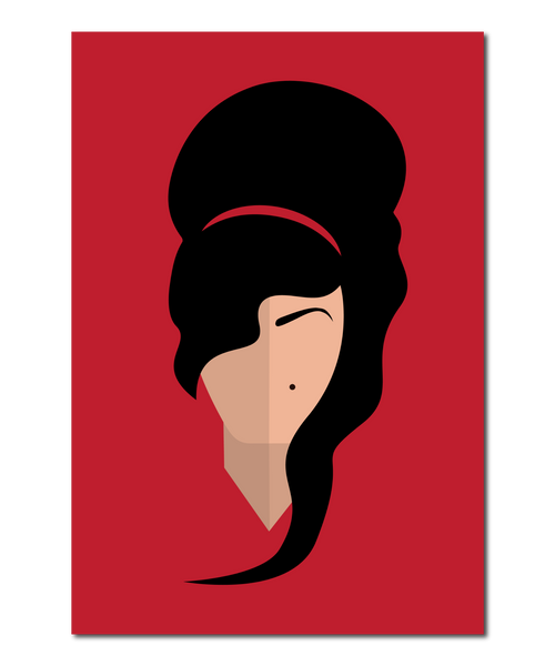 Amy Winehouse Original Icon Print (Icon Series)