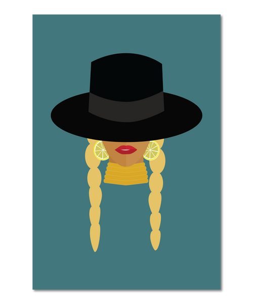 Beyoncé Original Icon Print (Icon Series)
