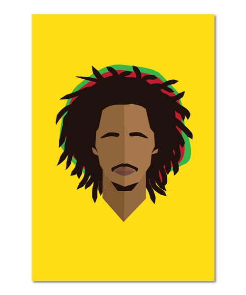 Bob Marley Original Icon Print (Icon Series)