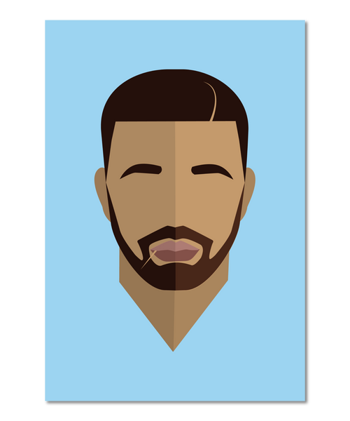 Drake Original Icon Print (Icon Series)