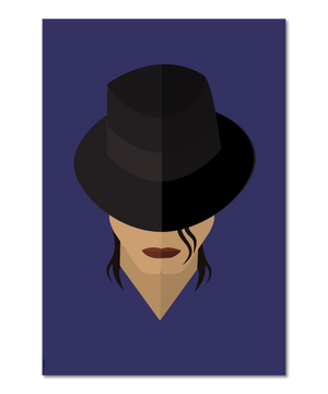 Smooth Criminal Inspired Original Icon Print (Icon Series)
