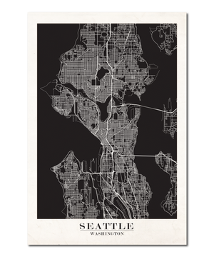 Seattle Map Design
