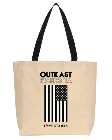2Pac Minimalist Icon Canvas Tote