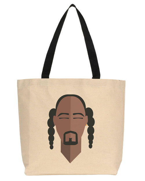 Snoop Dogg Minimalist Icon Canvas Tote
