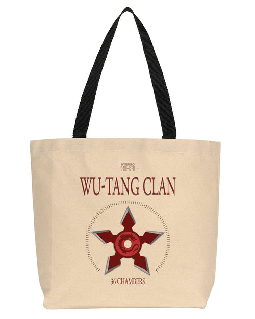 Wu-Tang Clan Fan Canvas Tote