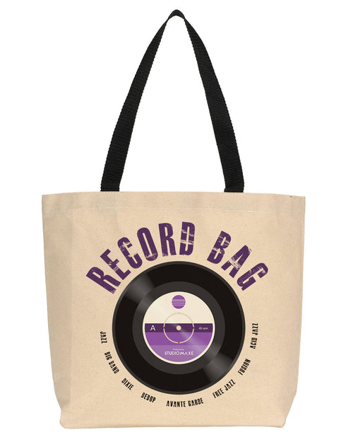 Record Bag Canvas Tote (Jazz)