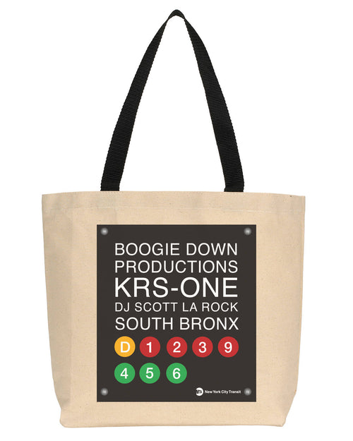 Boogie Down Production Fan Canvas Tote