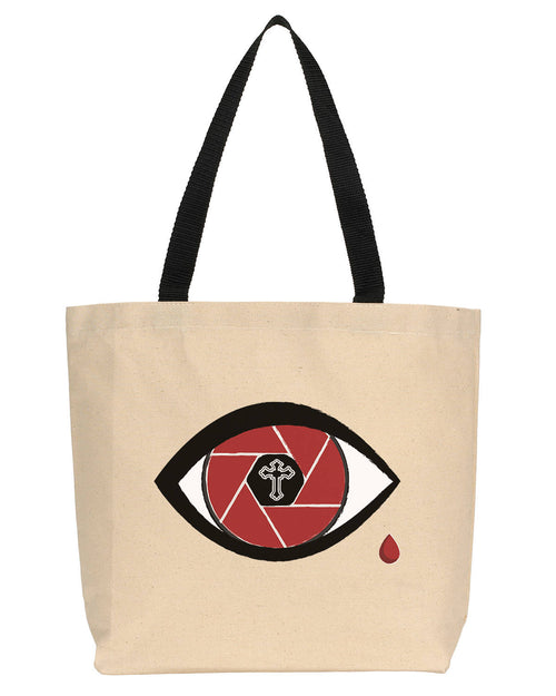 All Eyez Canvas Tote
