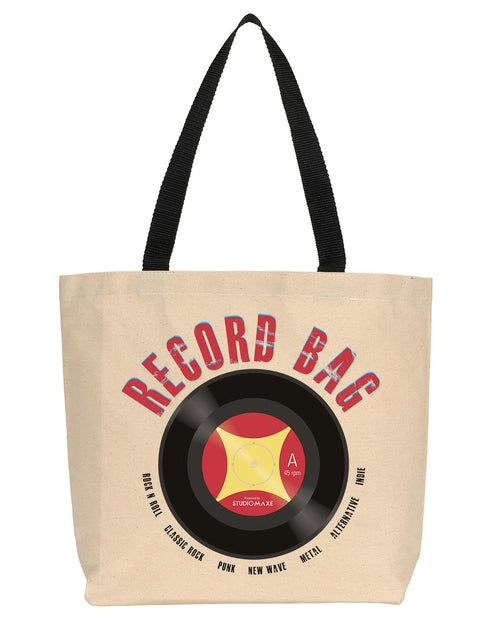 Record Bag Canvas Tote (Rock)