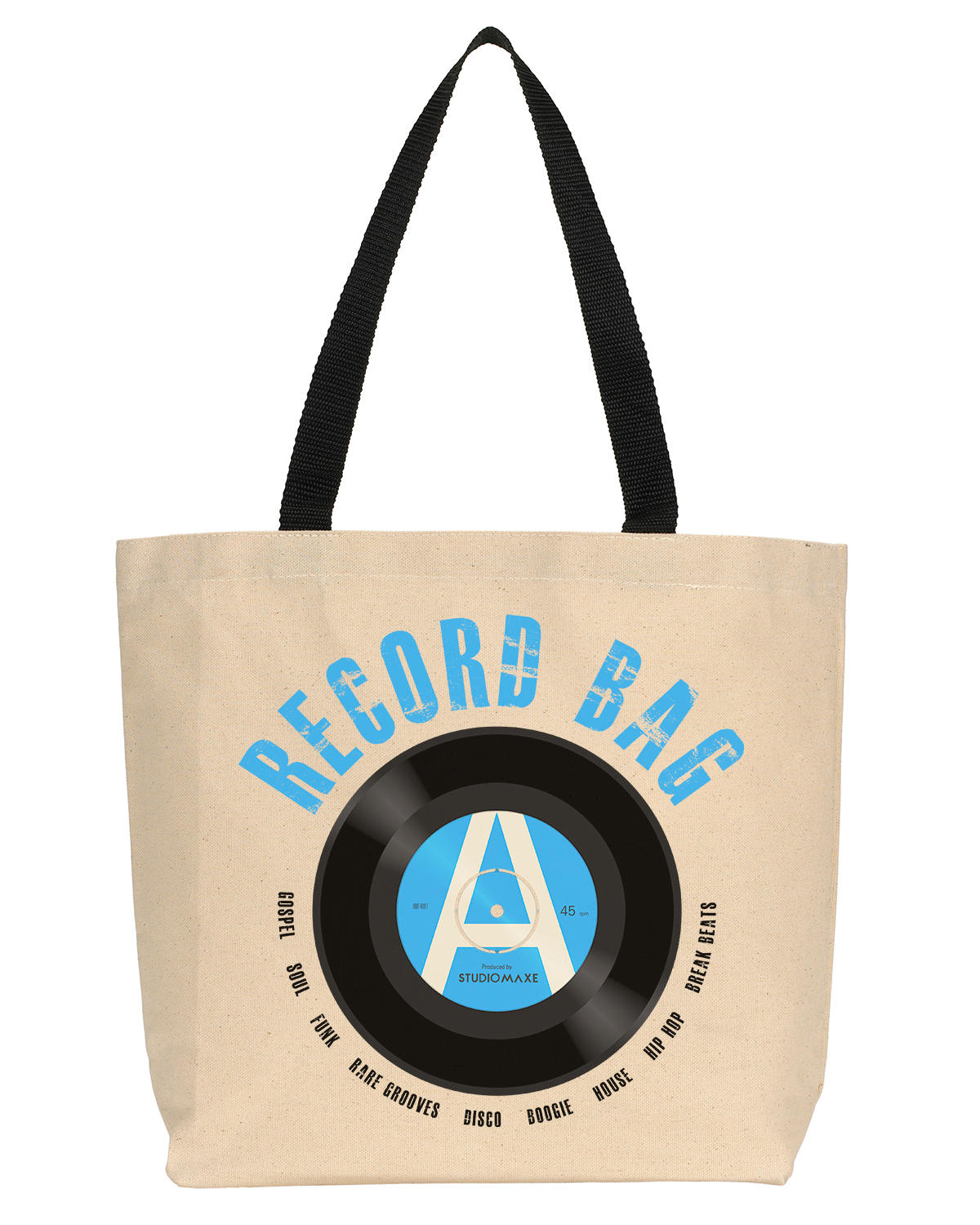 Record Bag Canvas Tote (R&B/ Hip-hop)