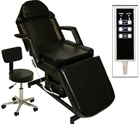 Electric microblading chair bed