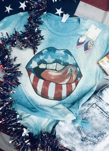 Bleached Star Spangled Lips