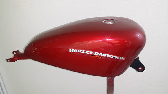 Harley OEM Gas Tank CARB Sportster 883 Fire Red Pearl 2007