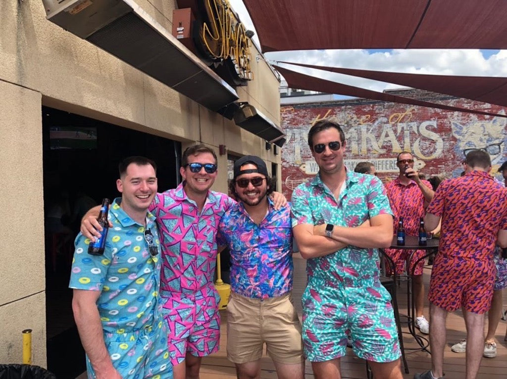 Guys in rompers for men - party rave outfits