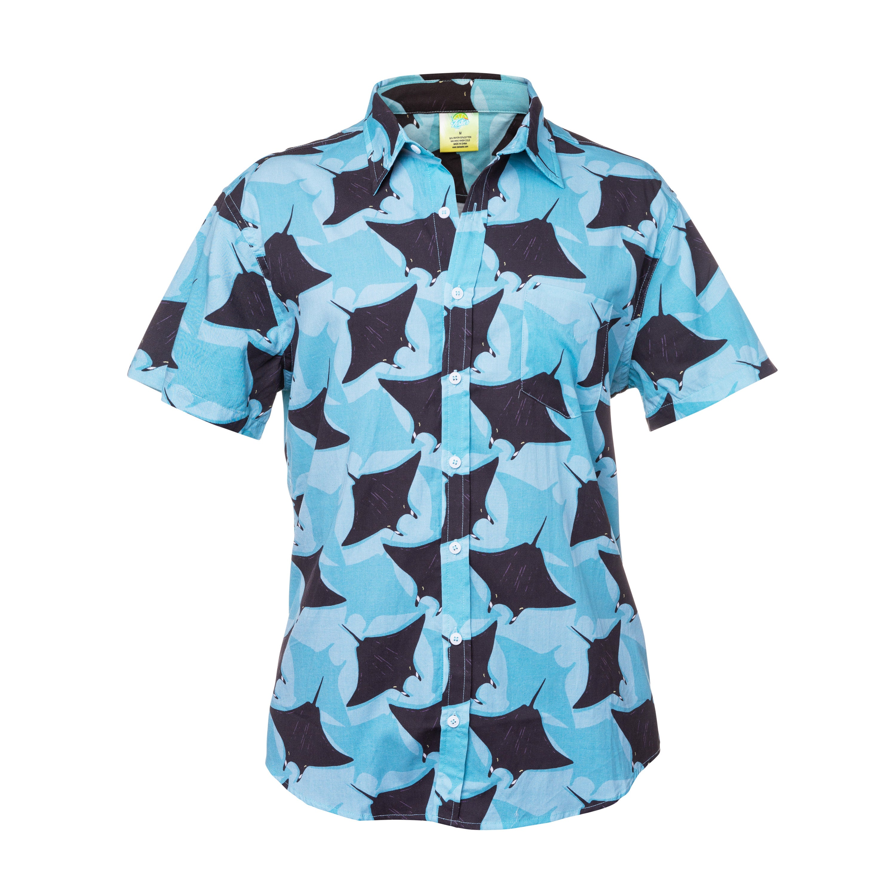 Hawaiian Shirt - Manta Ray