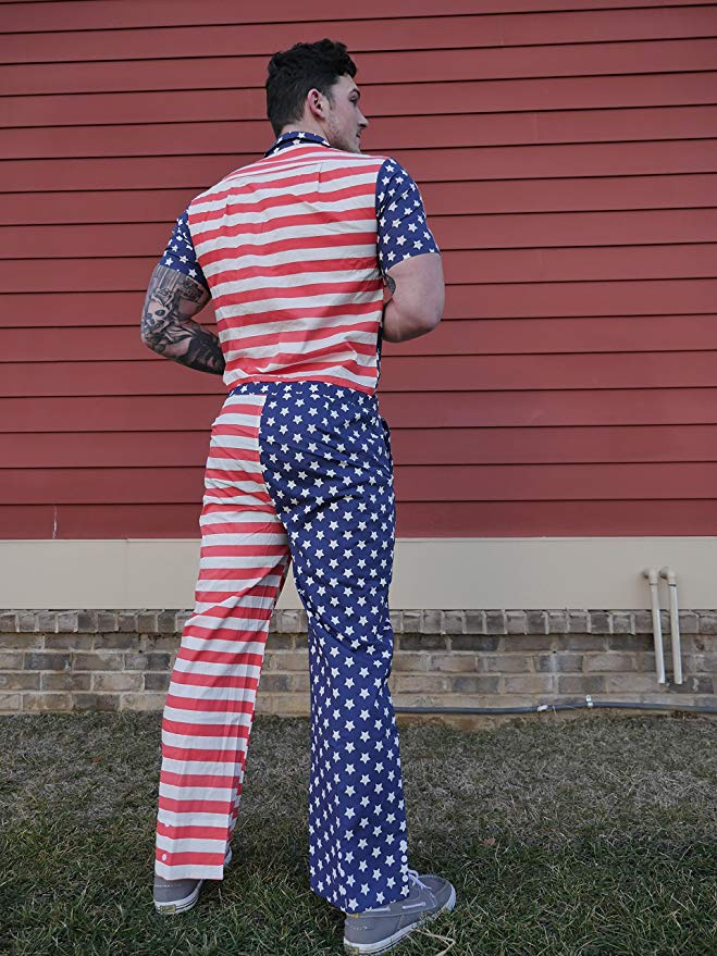 Male Pumpsuit - America! Jumpsuit