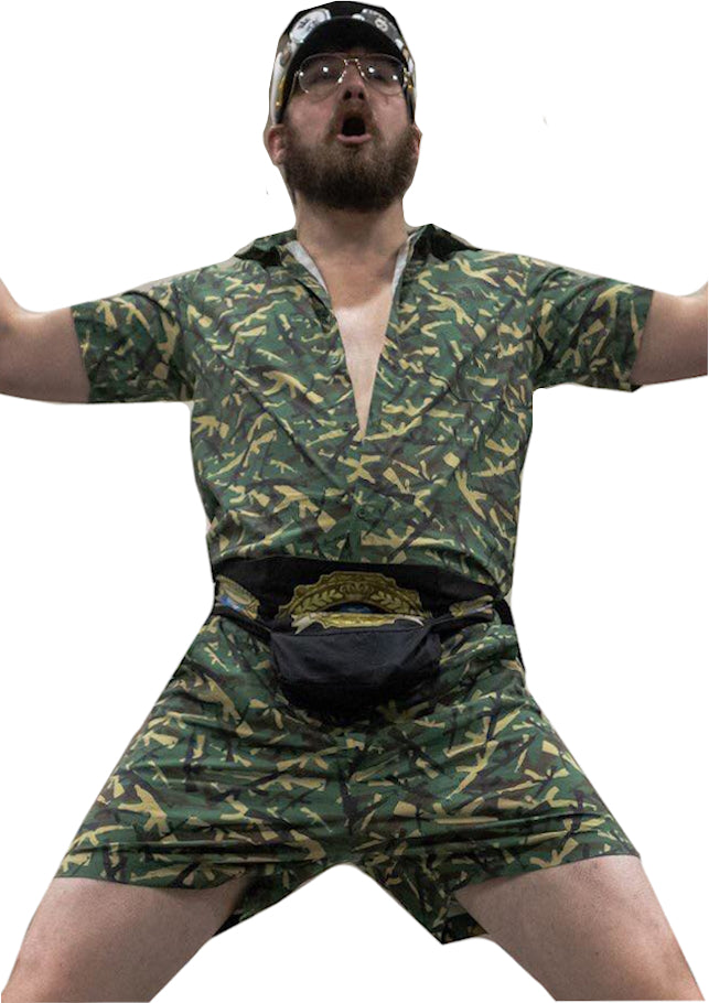 Male Romper - Assault