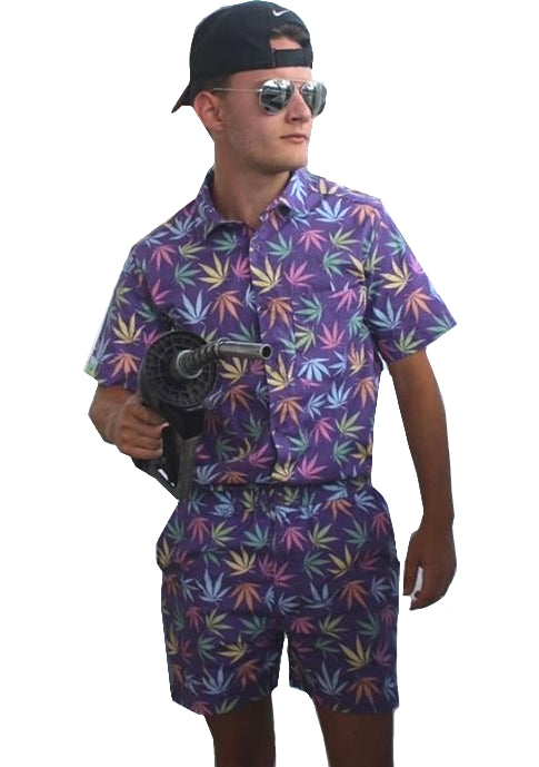 Male Romper - Blazed