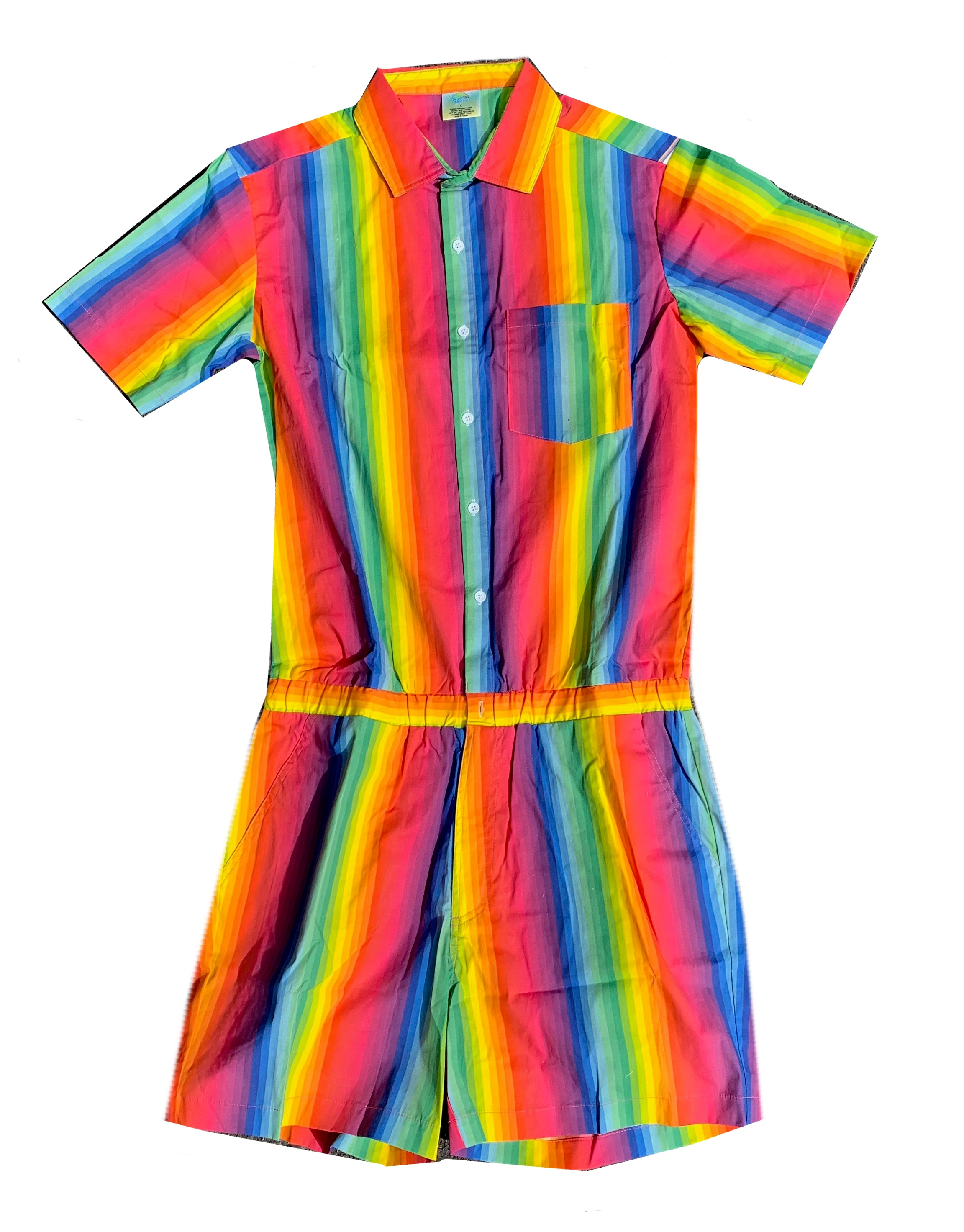 Gay Pride Male Romper - Prism