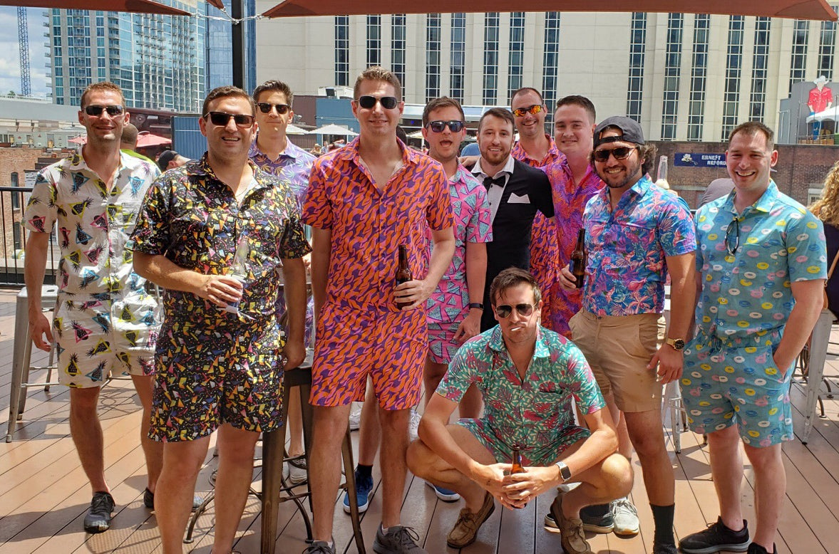 Male Rompers Romphims Group Shot