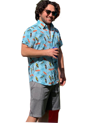 Hawaiian Shirt - Surf's Up!