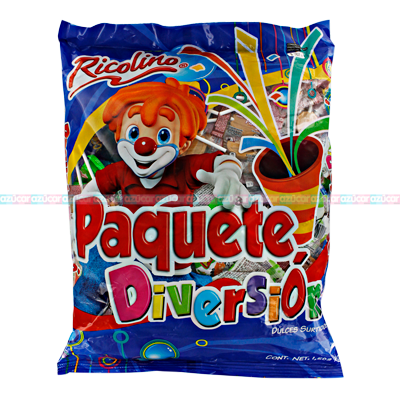 PAQUETE DIVERSION 6/1.5Kg