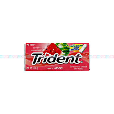 ADAMS TRIDENT 18s VALUPACK WATERMELON 12/12
