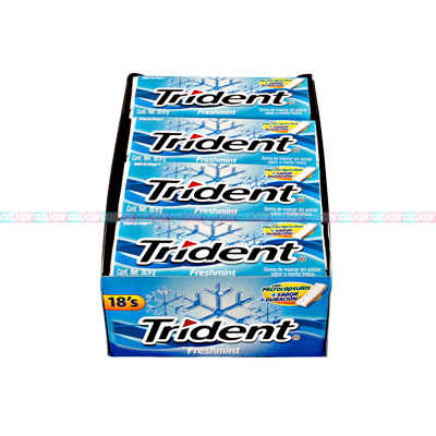 ADAMS TRIDENT 18s VALUPACK FRESHMINT 12/12