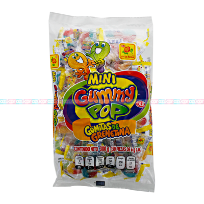LA ROSA MINI GUMMY POP 25/50