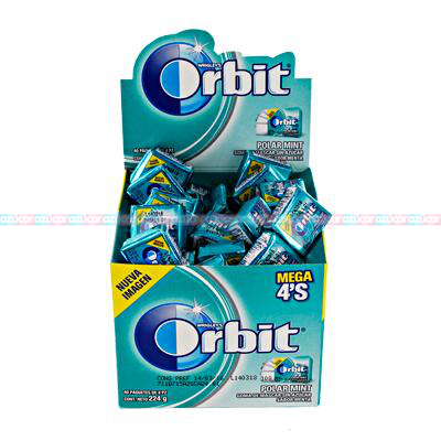 ORBIT MEGA 4 POLAR MINT 24/40