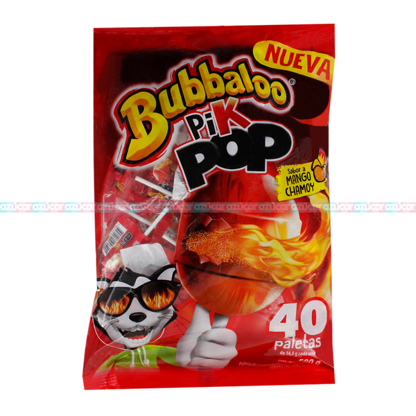 BUBBALOO PIK POP MANGO 24/40