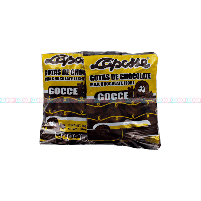 LAPOSSE GOTAS CHOCOLATE 3/12_LAPOSSE