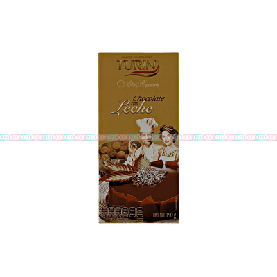 TURIN TABLILLA CHOCOLATE C/LECHE 12/150G_TURIN