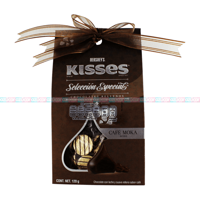 HERSHEYS KISSES SELECCION CAFE MOKA 6/120_HERSHEYS