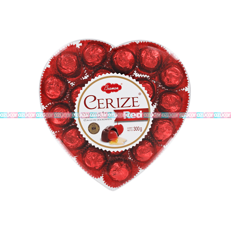 CORAZON GDE CERIZE RED 7/300G