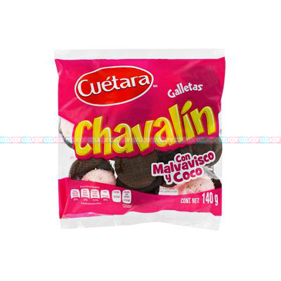 CHAVALIN GALLETA 10/140grs