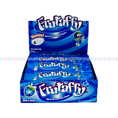 KLASS FRUTAFFY MORA AZUL 24/24
