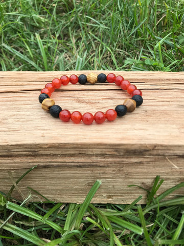 The Bushido Mala Bracelet