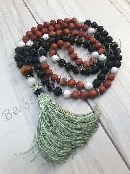 Zen in Nature Mala Necklace