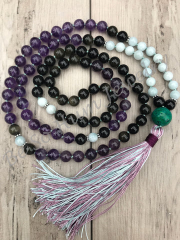 Night Skies Mala Necklace
