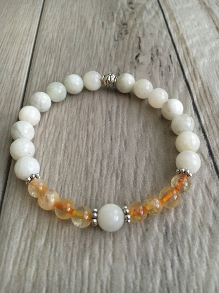 November Birthstone Mala Bracelet