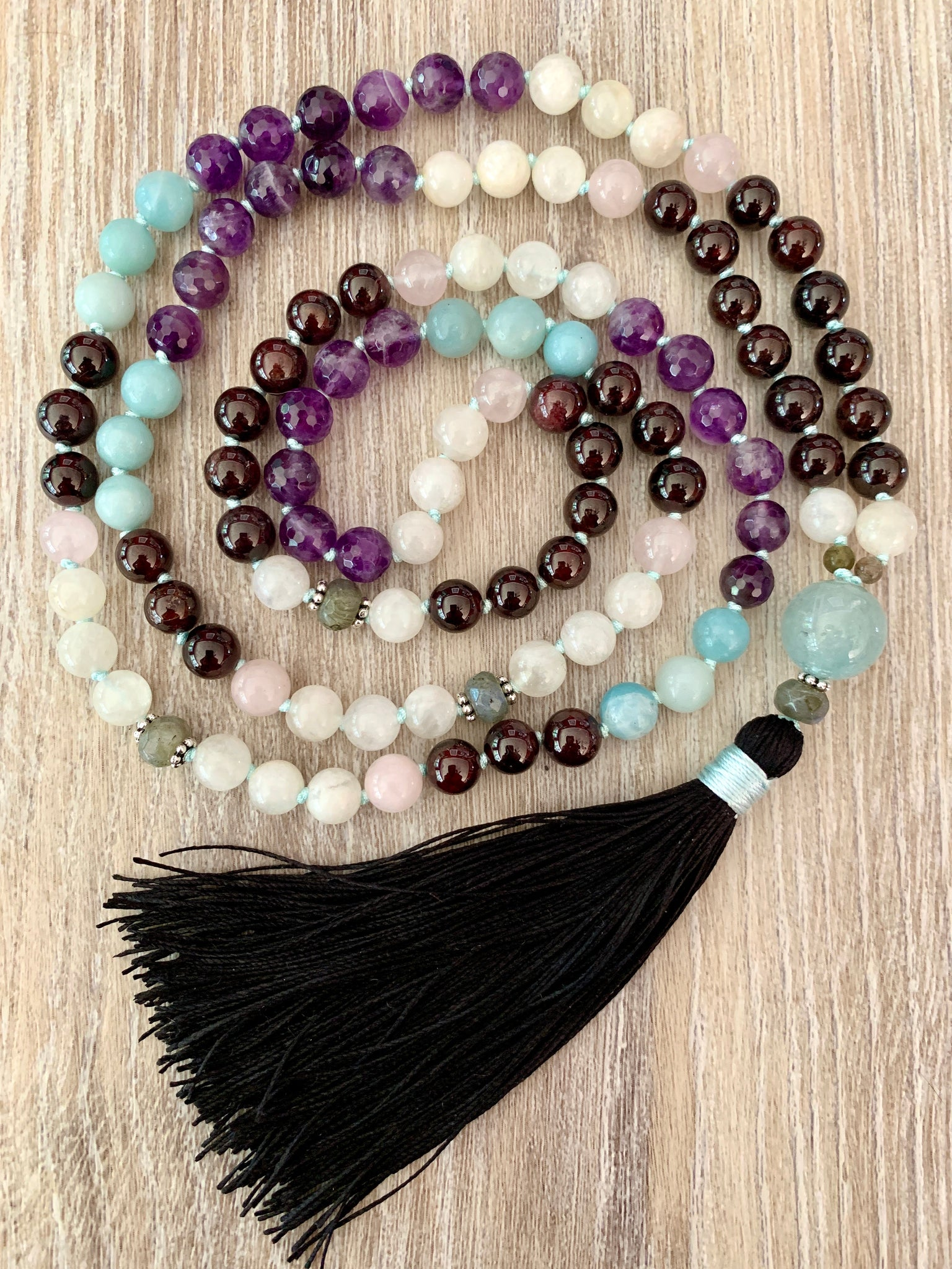 Divine Warrior Mala Necklace