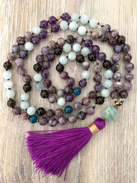 March Full Moon Mala